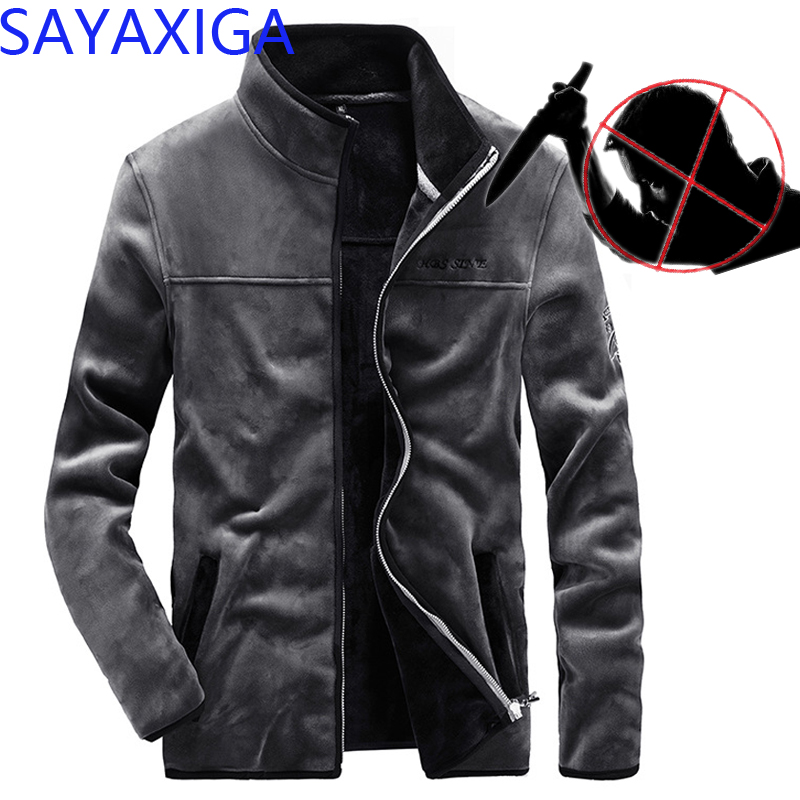 Jackets & Coats New Design Self Defense Cut Resistant Anti Stab Clothing Anti Sharp Police Casual Defense Jacket Coat Hooded Outwear Stealth Top