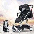 Ultra leve de alta paisagem moda portátil dobrável carrinho de bebê