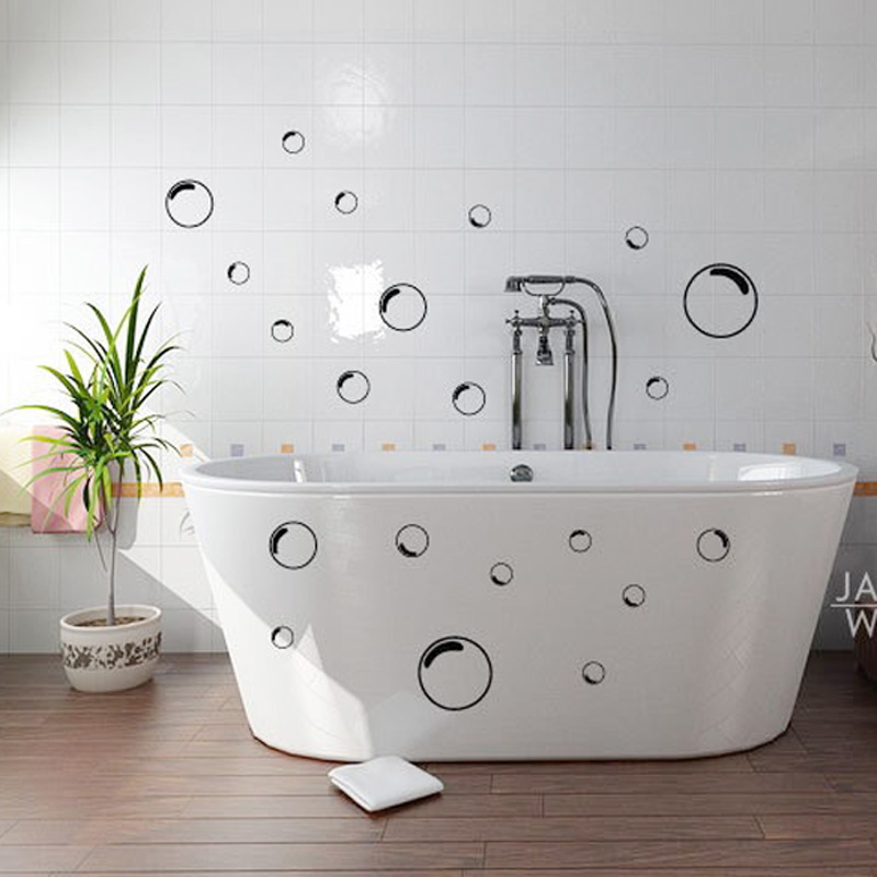 21 bubbles outline wallpaper bathtub bathroom shower door. Black Bedroom Furniture Sets. Home Design Ideas