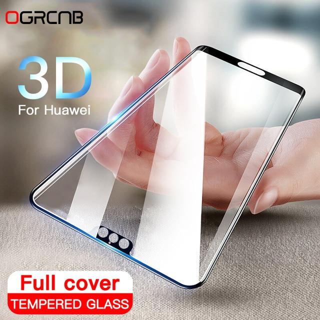 3D полное покрытие закаленное Стекло для Huawei p20 Pro P10 Lite плюс Экран протектор для Huawei p20 Honor 10 защитный Стекло