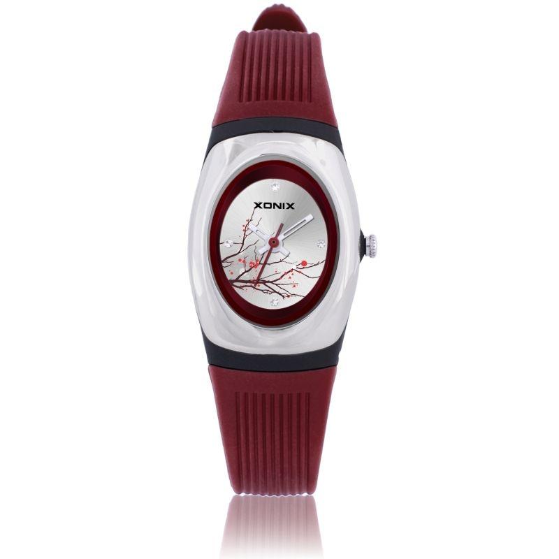 2016 XONIX Quarz Marke Dame Uhren Frauen Luxus Rose Gold Antiken Platz Leder Kleid armbanduhr Relogio Feminino Montre крем inverma frauen для нее 20ml