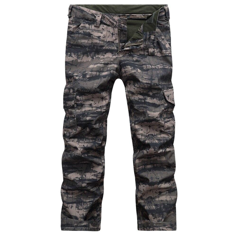 Prix pour Hommes camouflage ski pantalon en plein air pantalon de ski snowboard pantalon thermique coupe-vent imperméable respirant