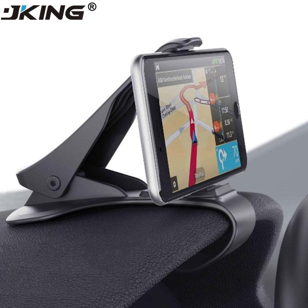 JKING Universal car dashboard holder stand hud design clip