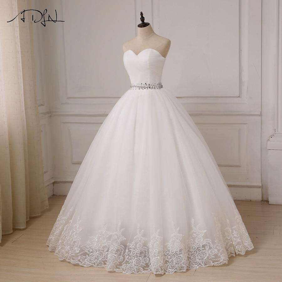 ADLN billiga bröllopsklänningar 2017 Sweetheart Bollklänning Tulle - Bröllopsklänningar - Foto 5