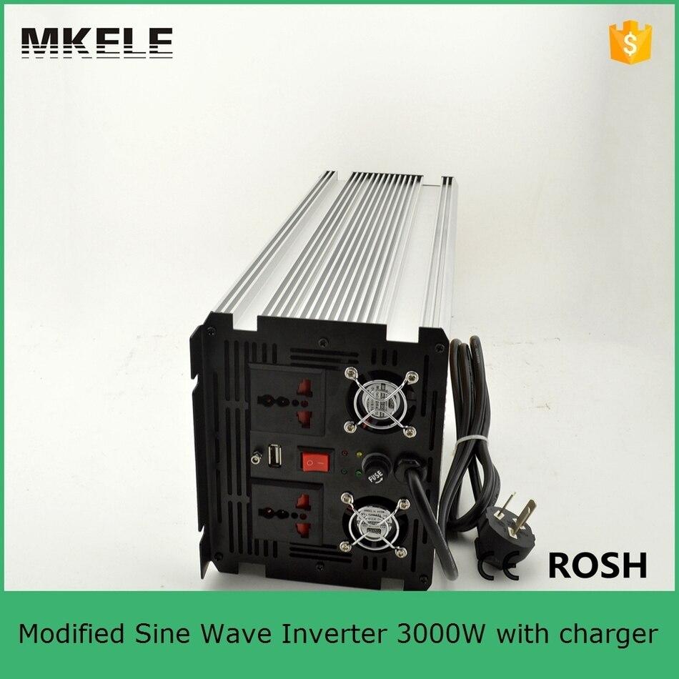 Inversor de corriente sinusoidal MKM3000 121G C modificado inversor de 3000 vatios ac 120 v dc12v convertidor inversor para uso doméstico con cargador - 5
