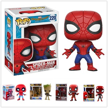 Funko POP Spider-Man venom модель Фигурка Коллекционная модель игрушки подарки