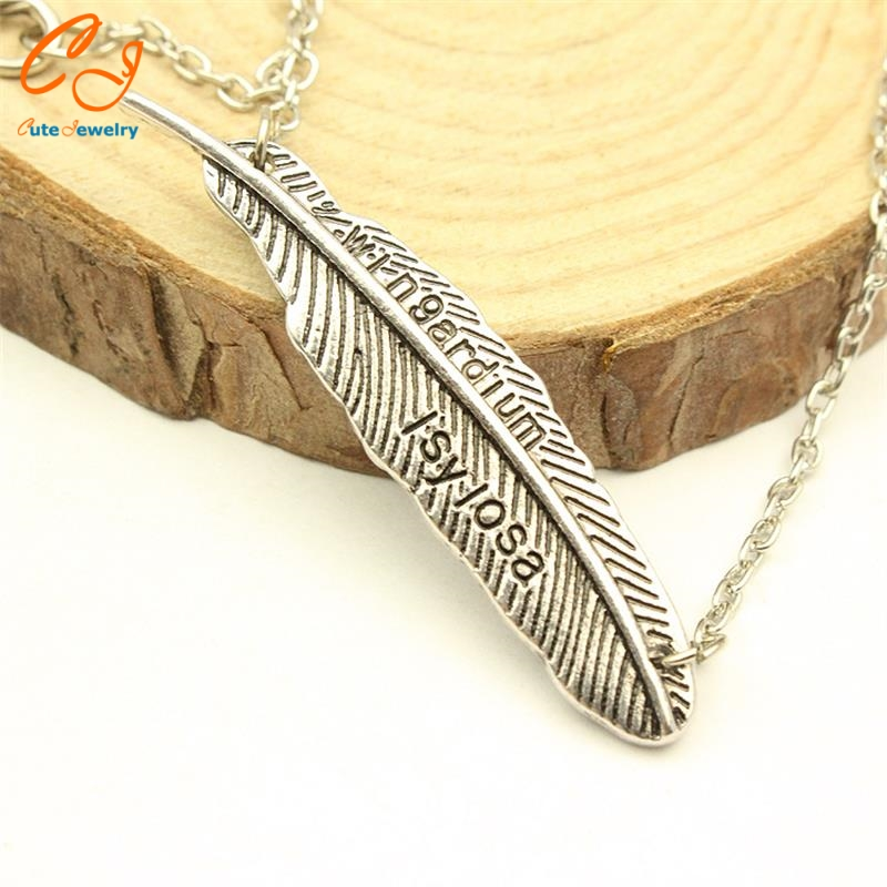 product Europe and the United States foreign trade the original single adorn article 2016 of the new movie feather necklace