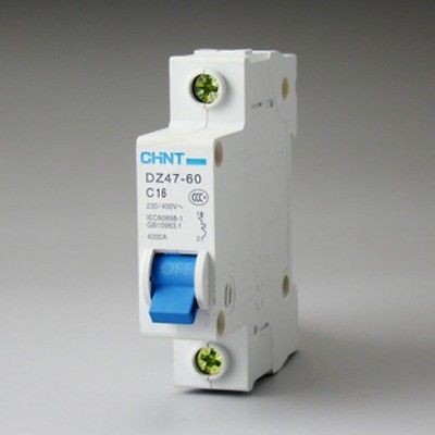 Dz47 60 C16 Ac230 400v 1p 16a Rated Current 1 Pole