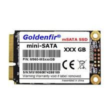 Goledinfir unidade de estado sólido, msata ssd sataiii 60gb 128gb 256gb hd ssd para o portátil