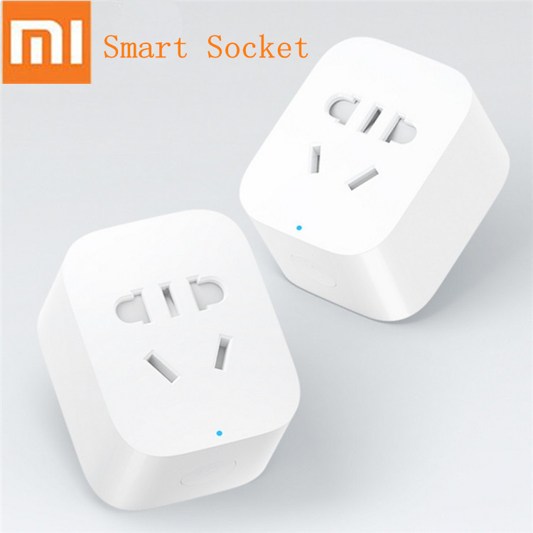 New Xiaomi Smart Socket Plug Wifi Version WiFi Wireless Remote