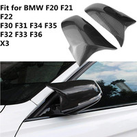 For BMW F30 F32 F33 F20 F22 F23 F36 X1 Mirror M3 M4 Look Rear View Mirror Cover For F20 F30 F22 F36 F23 F87 M2 R+L