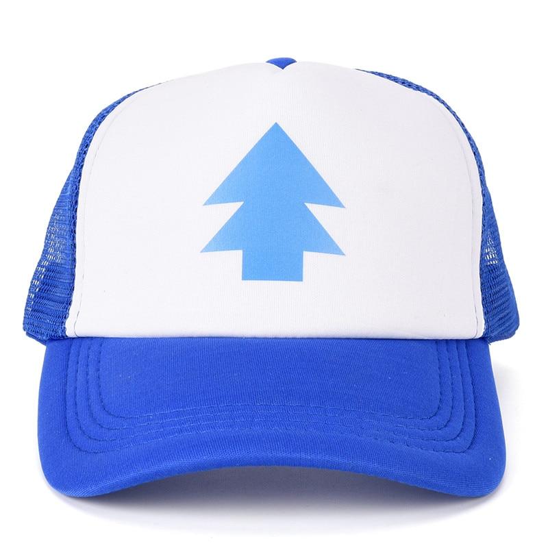 7c4b11e6c29 Gravity Falls Baseball Cap BLUE PINE TREE Hat Cartoon Hip hop Snapback Cap  New Curved Bill Dipper Adult Men gift-in Baseball Caps from Apparel  Accessories ...