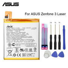 ASUS Original Replacement Phone Battery C11P1606 3000mAh for Asus ZenFone 3 Laser ZC551FL Z01BDA/BDC 5.5 Free Tools new dual charger for so kkia total station bdc 46a b bdc 58 bdc 70 battery