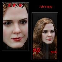JT002 1/6 Scale female figure accessories carving Head Sculpt Emma Watson Ladder Lady Fit 12 Inch Phicen TB League Hot Toys