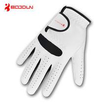 1 шт мужские перчатки для гольфа из натуральной кожи Регулируемые