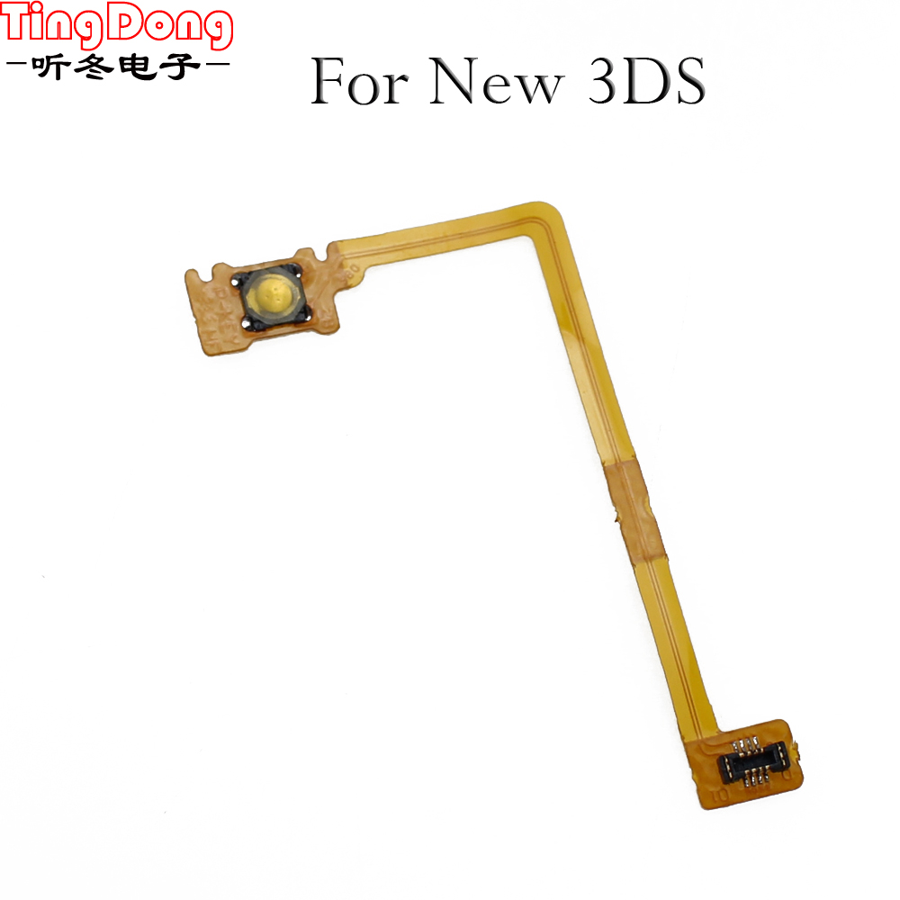 TingDong  Power Switch Cable On Off Button Swith Flex Cable Replacement for Nintendo for New 3DS Game Console