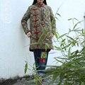 Новый 2015 старинные Зимние Пальто Женщин Куртки мягкий Хлопок Проложенный Подкладка Дамы Вниз и Парки 3 цвета