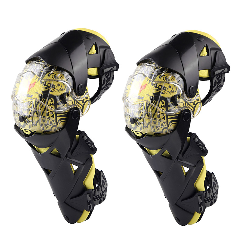 DUHAN Motorcycle Kneepads Sports Scooter Protector motocross CE Approval Guards Safety gears Protective gear racing protection