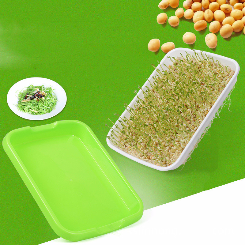 Image 2 - Hydroponics Seed Germination Tray Seedling Tray Sprout Plate Grow Nursery Pots Tray Vegetable Seedling Pot Plastic Nursery Tray-in Nursery Pots from Home & Garden