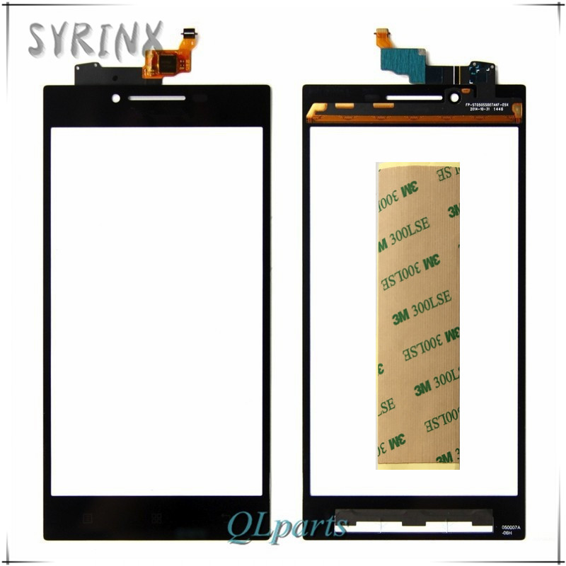 Syrinx Free Tape Cell Phone Touchscreen Sensor For Lenovo P70 P70T Touch Screen Panel Glass Digitizer Replacement Mobile Phone Touch Panel     -