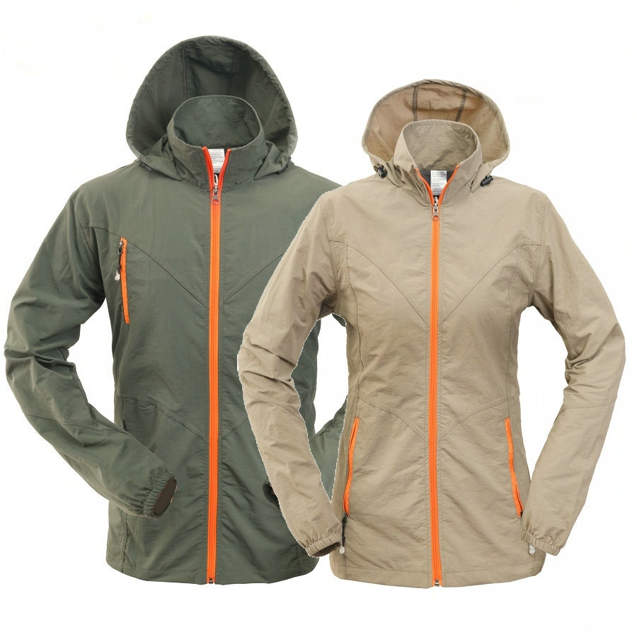 Hooded-Jacket Sport-Coats Outdoor Women Windproof Sun-Uv-Protection Quick-Dry Male Summer title=