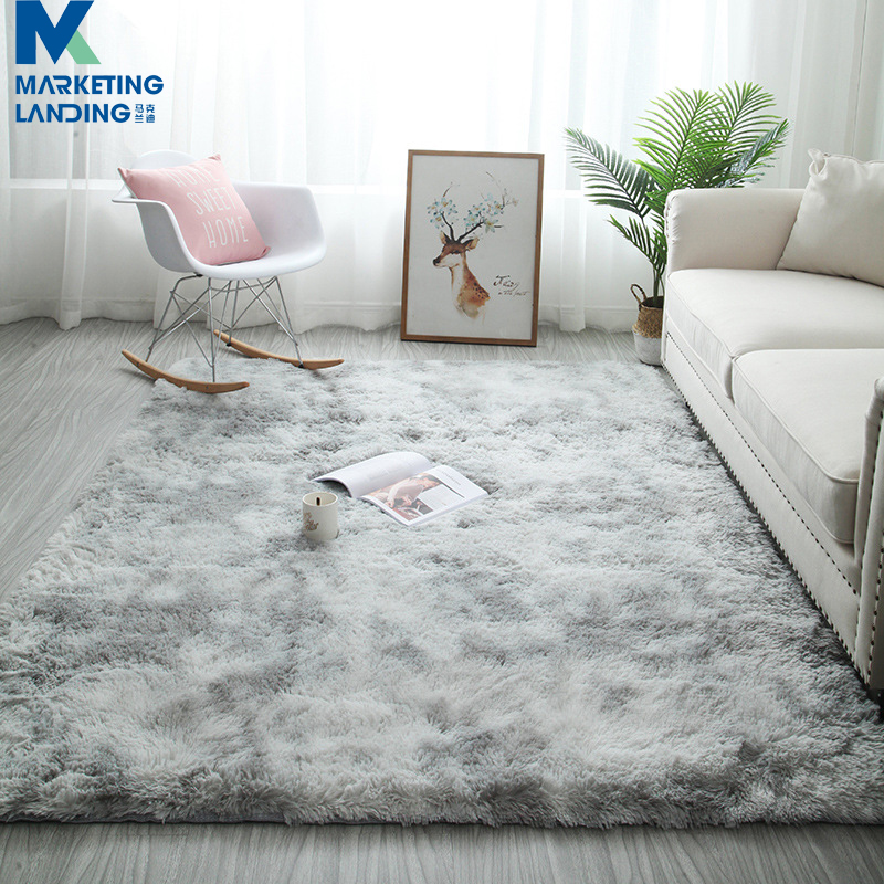 Grey Plush Carpets For Living Room Soft Fluffy Rug Home Decor Shaggy Carpet Bedroom Sofa Coffee Table Floor Mat Cloakroom Rugs