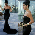 Mermaid Evening Party Dress Sexy Long Formal Evening Dresses 2017 Robe De Soiree Off Shoulder Sweetheart Evening Gowns Backless