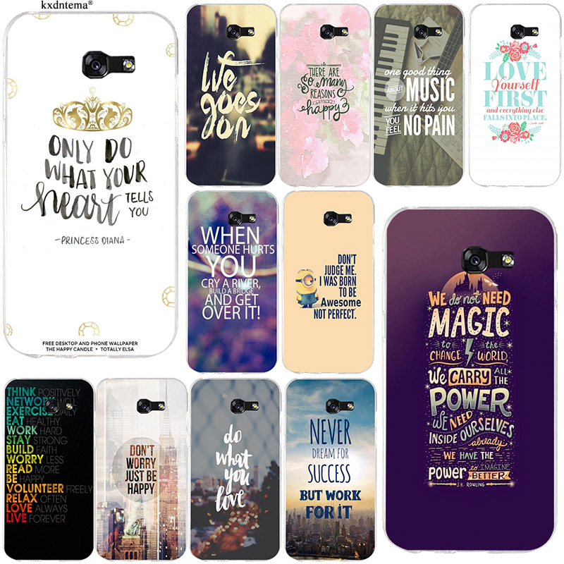 Inspirational Motivational Quotes Soft TPU Phone Cases for