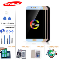 5.2 Sinbeda Super AMOLED LCD For SAMSUNG Galaxy A520 LCD Touch Screen Digitizer For SAMSUNG A5 2017 Display SM A520F *