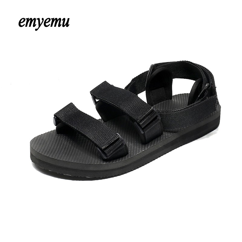 Big size Women Sandals Summer Beach Shoes Comfortable Rubber Sandals women Nylon Sandles