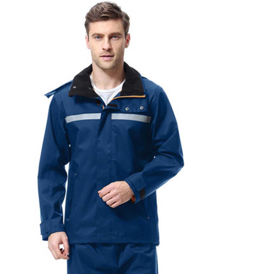 Дождевик; непромокаемые штаны, костюм для мужчин и женщин, Сплит, взрослых, мотоциклетная батарея, бейсболка для езды и походов, водонепроницаемый плащ R5C165