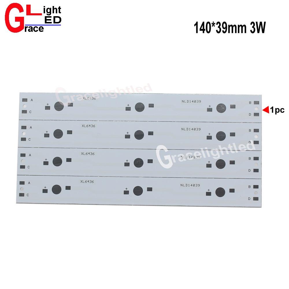 10pcs 35*35*14mm Aluminium Heatsinks Cooler for 1W 3W High Power LED Light