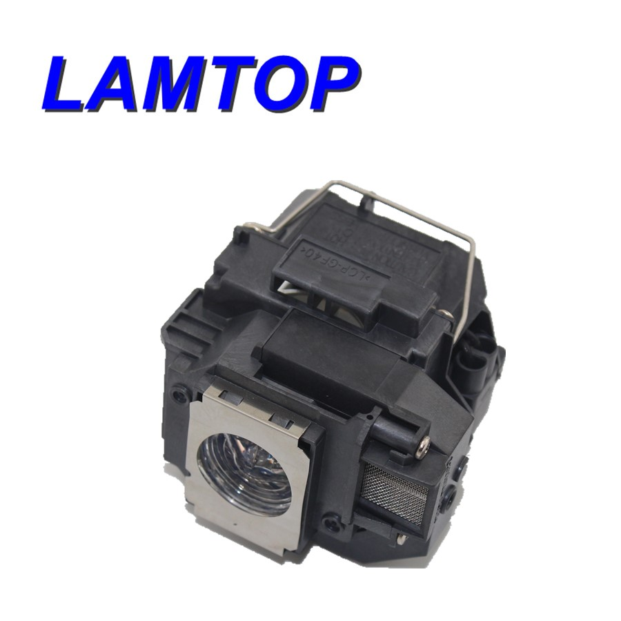Compatible projector lamps /bare projector bulb with housing  ELPLP55  fit for  EB-W8D free shipping lamtop bare projector lamps projector bulb elplp28 v13h010l28 fit for emp tw500 free shipping