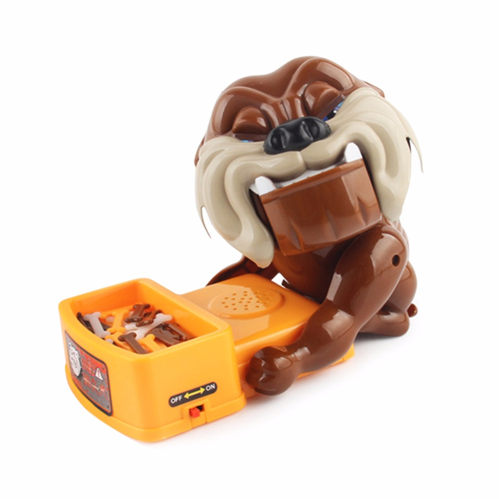 Funny and Novelty Practical Joke Angry Bulldog Barking Toy Adjust Bad Mood Toy for Party and Game for Kids