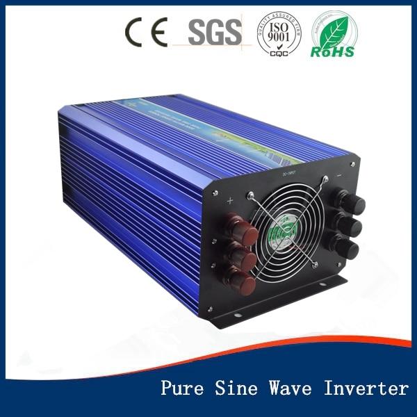 4000W DC12V/24Vinput to AC 110V/220V Pure Sine Wave Inverter Off Grid Solar& Wind Power Inverter, Surge Power 8000W PV Inverter 2000w off grid pure sine wave inverter surge power 4000w 12v 24vdc to 110v 220vac single phase solar or wind power inverter