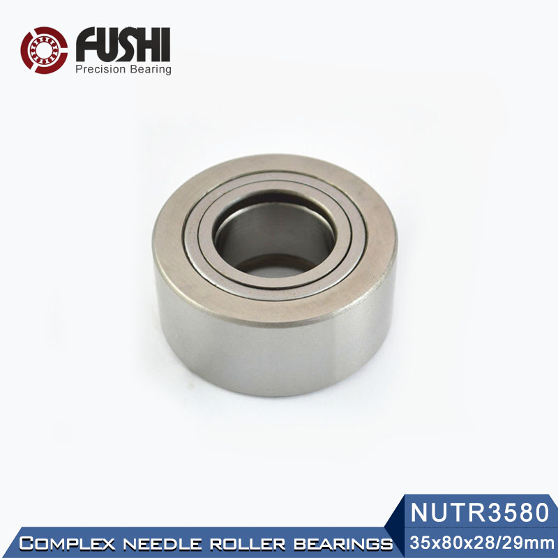 NUTR3580 Roller Followers Bearings 35*80*29*28mm ( 1 PC ) Yoke Type Track Rollers NUTR 3580 Bearing NUTD3580 natr40 roller followers bearings 40 80 32 30mm 1 pc yoke type track rollers natr 40 bearing natd40