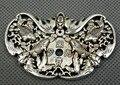 Коллекция тибетская Серебряная ручная резная летучая мышь подвеска в виде карпа