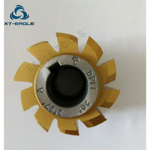 Image 4 - Yellow coating HSS DP10 DP11  DP12  DP13  DP14 DP16 DP18 DP20 DP22 DP24  Gear Hob Cutter PA20 degree