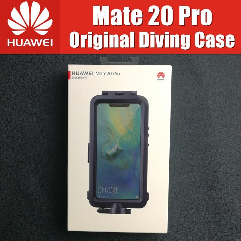 Huawei Compagnon 20 Pro Plongée Cas Officiel Huawei Original Étanche Protecteur Boîtier Mate20 Pro En Apnée Natation Couverture