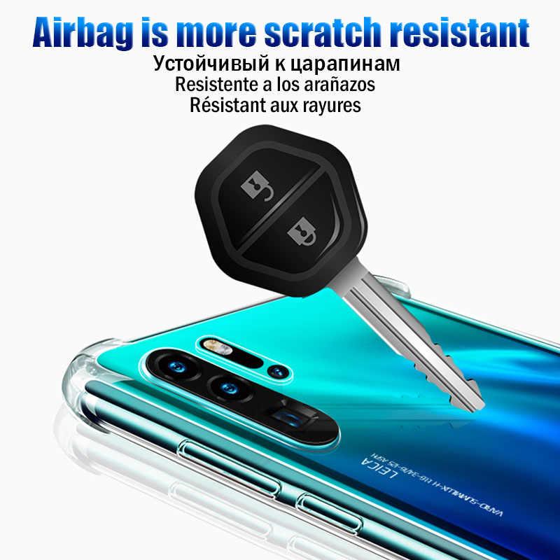 Роскошный противоударный мягкий ТПУ чехол для телефона huawei P20 Lite P30 Pro защитный чехол для huawei P20 mate 20 10 Lite P Smart 2019