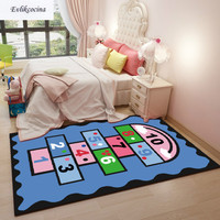 Free Shipping Numbers Game Carpet Home Area Rug Floor Mat Living Room Moqueta Suelo Bedroom Tapete Para Sala Alfombra Dormitorio