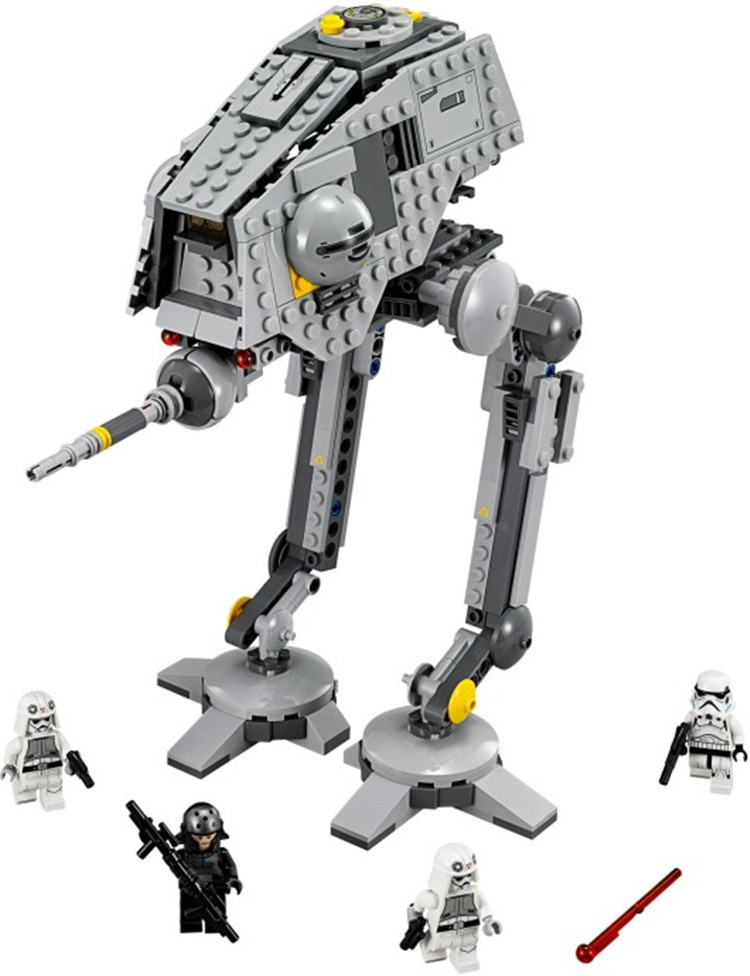 Pogo Lepin 499pcs 10376 AT-DP Rebels Animated Star Wars Building Blocks Bricks Toys Compatible Legoe 2016 499pcs bela 10376 new star wars at dp building blocks toys gift rebels animated tv series compatible