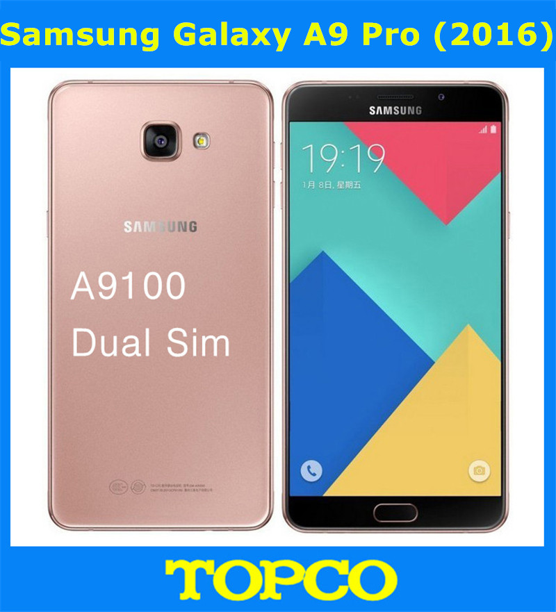 samsung galaxy a9 pro 2016 duos original unlocked lte dual sim mobile phone 6 0 16mp samsung. Black Bedroom Furniture Sets. Home Design Ideas