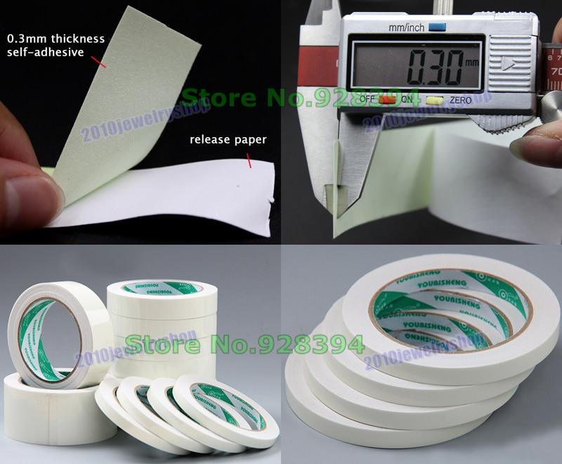 20rolls 6mmx10m Green Glow In Dark Tape Photoluminescent Luminous Tape Self-adhesive Stage Home Decoration Office Adhesive Tape