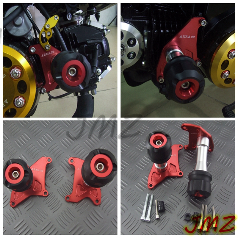 Motorcycle CNC Engine Crash Protectors For HONDA Grom MSX125 MSX125SF  Engine Crash Protectors Honda Grom