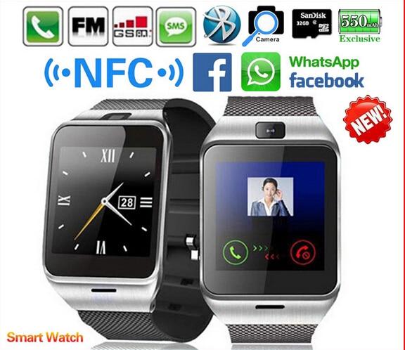 Waterproof GV18 Plus Smart watch phone NFC Camera wrist Watch SIM card font b Smartwatch b