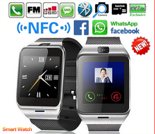 Wasserdichte gv18 plus smart watch telefon nfc kamera armbanduhr sim-karte smartwatch für samsung android telefon pk dz09 gt08 U8