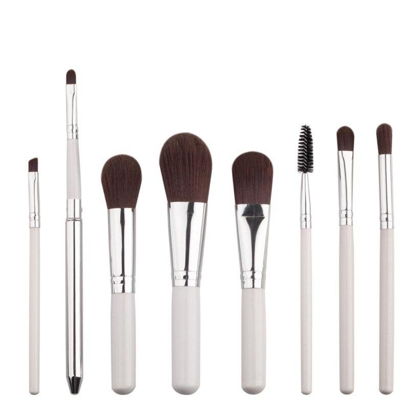 8pcs/set Beauty Cosmetic Makeup Brush Blusher Eye Shadow Eyelash Brushes Set Kit Concealer Brushes Tools six black eye makeup brush brush eye shadow brush black beauty makeup tools