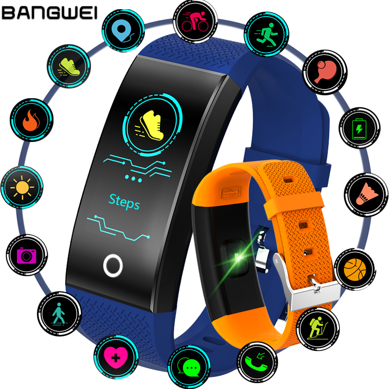 2018 Nouveau IP68 Étanche Fitness Tracker Smart Bracelet OLED Couleur Tactile Écran Sport Podomètre Intelligent Bracelet PK mi bande 3