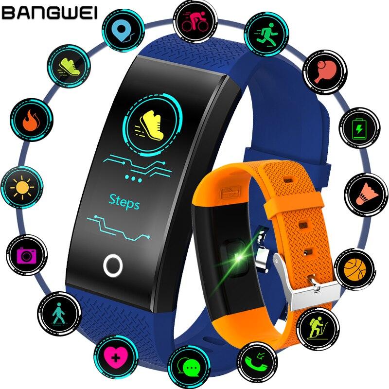 2018 Nuovo IP68 Impermeabile Inseguitore di Fitness Braccialetto Intelligente OLED Touch Screen a Colori di Sport Pedometro Intelligente Wristband PK mi fascia 3